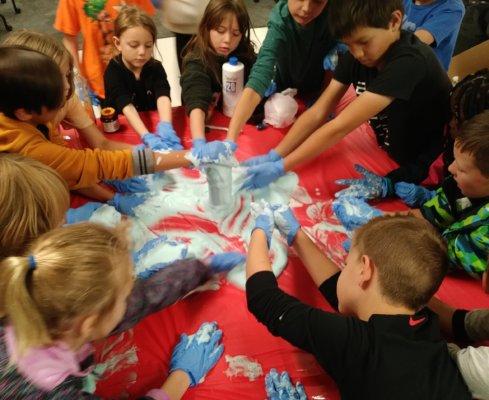 Making Elephant Toothpast